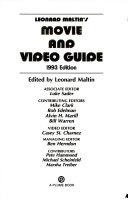 Leonard Maltin's Movie and Video Guide 1993
