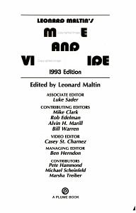 Leonard Maltin s Movie and Video Guide 1993 PDF