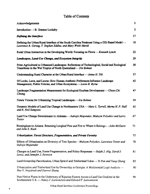 Proceedings  Emerging Issues Along Urban Rural Interfaces  Linking Science and Society PDF