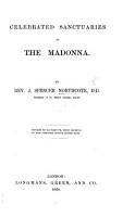 Celebrated Sanctuaries of the Madonna PDF