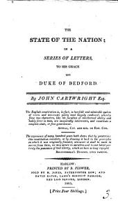 The state of the nation, in a series of letters to the duke of Bedford: Volume 3