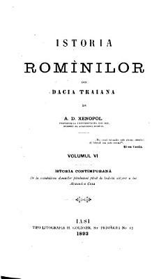Istoria Rom  nilor din Dacia Traiana  Istoria contimpuran   PDF