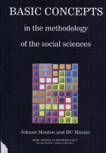 Basic Concepts in the Methodology of the Social Sciences