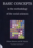 Basic Concepts in the Methodology of the Social Sciences PDF