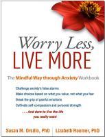 Worry Less  Live More PDF