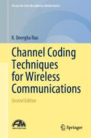 Channel Coding Techniques for Wireless Communications PDF