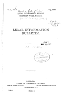 Legal Information Bulletin PDF