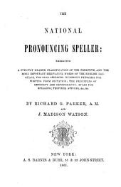 The National Pronouncing Speller