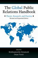 The Global Public Relations Handbook  Revised and Expanded Edition PDF
