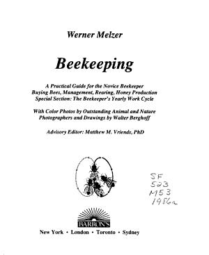 Beekeeping PDF