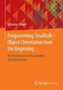 Programming Smalltalk     Object Orientation from the Beginning PDF