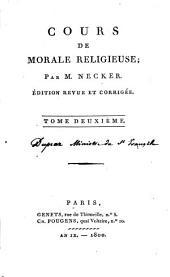 Cours de morale religieuse: Volume2