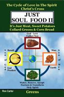 Just Soul Food Ii  The Cycle of Love in the Spirit Chrst s Cross  Its Just Meat  Sweet Potatoes Collard Greens   Corn Bread PDF