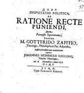 De Ratione Recte Puniendi