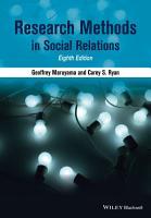 Research Methods in Social Relations PDF