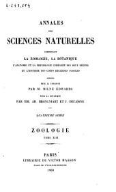 Annales des sciences naturelles: Zoologie, Volume13