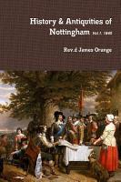 History   Antiquities of Nottingham  Vol 1  1840 PDF
