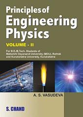 Principle of Engineering Physics II Sem