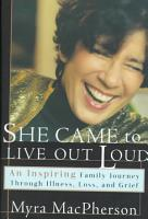 She Came to Live Out Loud PDF