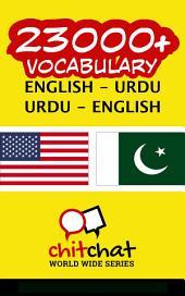 23000+ English - Urdu Urdu - English Vocabulary