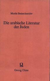 Die arabische Literatur der Juden