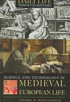 Science and Technology in Medieval European Life PDF