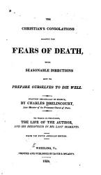 The Christian S Consolations Against The Fears Of Death Book PDF