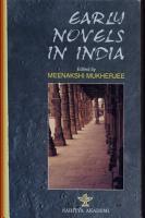 Early Novels in India PDF