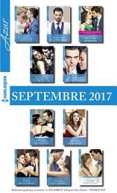 10 romans Azur + 1 gratuit (no3865 à 3874 - Septembre 2017)