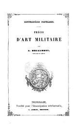 Précis d'art militaire: Volume2