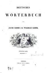 Deutsches Wörterbuch: Biermörder - D. 2