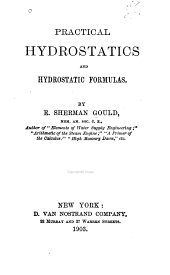 Practical Hydrostatics and Hydrostatic Formulas