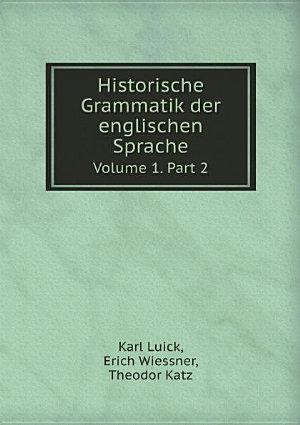 Historische Grammatik der englischen Sprache PDF