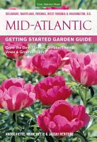 Mid Atlantic Getting Started Garden Guide PDF