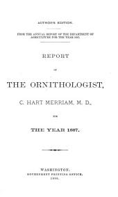 Report of the Chief of the Bureau of Biological Survey