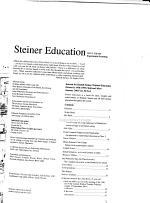 Steiner Education