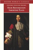 Four Restoration Libertine Plays PDF