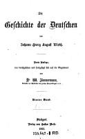 Die Geschichte der Deutschen PDF