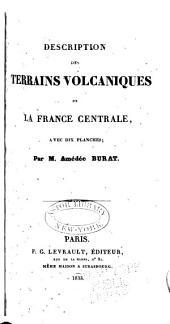 Description des terrains volcaniques de la France centrale