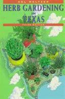 Herb Gardening in Texas PDF