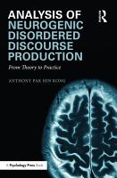 Analysis of Neurogenic Disordered Discourse Production PDF