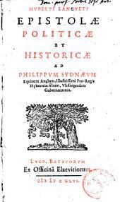Epistolae politicae & historicae ad Philippum Sydnaeum