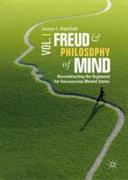 Freud and Philosophy of Mind  Volume 1 PDF