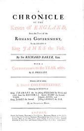 A Chronicle of the Kings of England ...