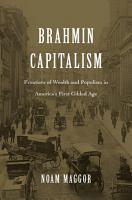 Brahmin Capitalism PDF