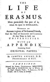 The Life of Erasmus