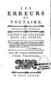 Les erreurs de Voltaire
