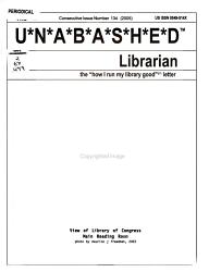 The Unabashed Librarian PDF