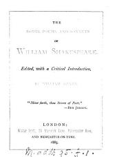 The Songs, Poems and Sonnets of Wm. Shakespeare