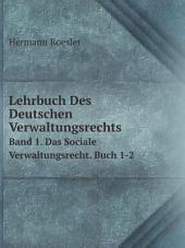Lehrbuch Des Deutschen Verwaltungsrechts